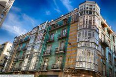 Amazing architecture, Santander, Spain