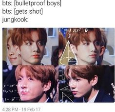 "BTS ~It's because they aren't ""boys"" anymore, except Jungkook the youngest"