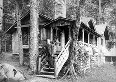 Image result for adirondack building style