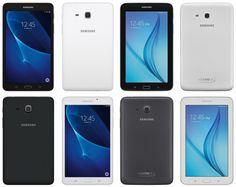 """nice Las próximas Galaxy Tab A y Galaxy Tab E de 7"""" aparecen en renders"""