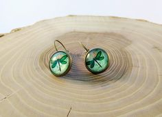 12mm Cabochon Glass Earrings with Dragonfly https://www.facebook.com/celine.marcoz.3/posts/1581391658806293