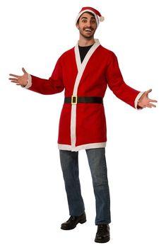 Santa Clauss Jacket Belt Hat Christmas Costumes Accessories Kids Party Toys  Gift  SantaClaussJacket  Jacket 0ad31bef0ed0