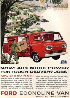 Ford Econoline 1965jh  Replace the Moto van with old school?