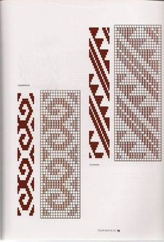 TELAR MAPUCHE.pdf Crochet Chart, Crochet Patterns, Inkle Weaving Patterns, Willow Weaving, Embroidery Stitches, Textiles, Cross Stitch Patterns, Tapestry, Quilts