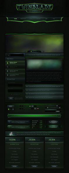 Twinblade UI Kit by VengeanceMK1