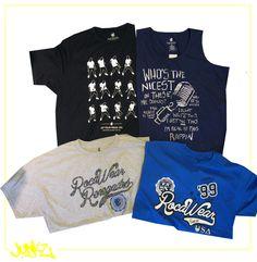 essas camisas da ROCAWEAR vcs encontram em nossa loja em MADUREIRA. nas outras lojas também chegaram camisas da ROCAWEAR mas outras estampas.  http://junkz.com.br/blog/2013/10/roca-wear-camisas/