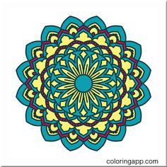Drawing In Apps Mandala