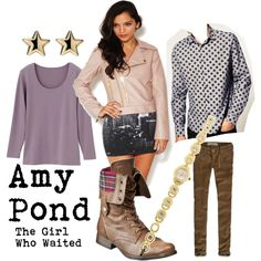 Amy Pond, the Girl Who Waited  Doctor Who inspired outfit