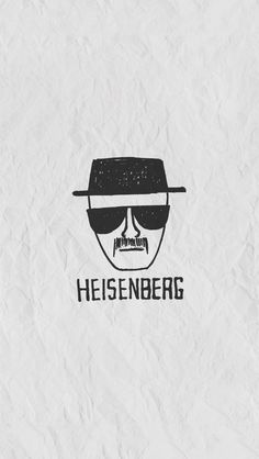 Heisenberg on Paper iPhone 5 Wallpaper