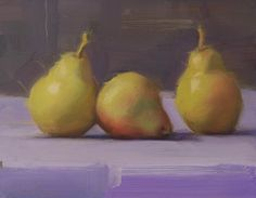 pears - why are they the best still life fruit?