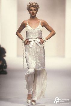 Chanel, Spring-Summer 1991, Couture