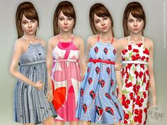 Designer Dresses Collection Found in TSR Category 'sims 4 Female Child Everyday' Sims 4 Tsr, Sims Cc, Tumblr Sims 4, The Sims 4 Bebes, Sims 4 Cc Kids Clothing, Kids Clothes Boys, Sims 4 Black Hair, The Sims 4 Cabelos, The Sims 4 Pc