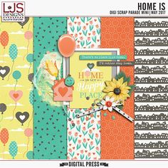 Thanks for participating in the May 2017 DigiScrap Parade! If you're following the Parade route from start to finish, you should have arrived here from Meagan's Creations. Download my p…