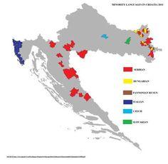 Minority languages inz. Croatia