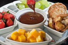Receita de Fondue de chocolate casino em receitas de doces e sobremesas, veja essa e outras receitas aqui!