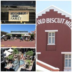 The Old Biscuit Mill Neighbour Goods Market, Woodstock, Cape Town, South Africa Local Attractions, Most Beautiful Cities, Best Cities, Cape Town, South Africa, The Good Place, Biscuits, The Neighbourhood, Old Things