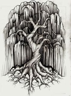 30 Beautiful Tree Drawings and creative Art Ideas from top artists – Tattoo Sketches & Tattoo Drawings Hai Tattoos, Foot Tattoos, Body Art Tattoos, Girl Tattoos, Wrist Tattoos, Kurt Tattoo, 1 Tattoo, Tattoo Drawings, Tattoo Tree