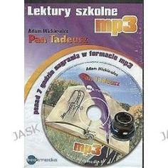 Pan Tadeusz. Lektury Szkolne - Książka Audio Na Cd (Cd) - Adam Mickiewicz, Audiobooki w języku polskim <JASK>