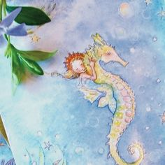 Mermaid Cards  by Becky Kelly