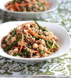 Curried Quinoa and Asparagus Salad
