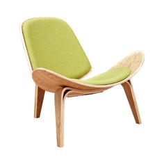 Wings Chair in Natural and Fabric