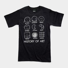 History of Art T-Shirt | MoMAstore.org