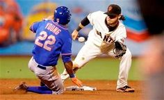 Mets outlast Giants 4-3 in 16 innings - As the stragglers stumbled into the visitors' clubhouse, some New York Mets players hollered and high-fived teammates as they passed through the door.
