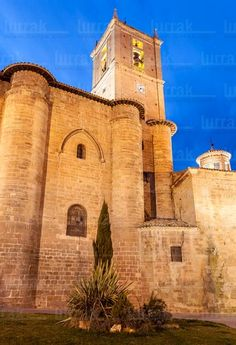 Monasterio de Santa María La Real. Nájera, La Rioja Architecture Antique, Romanesque Architecture, All About Spain, Rioja Spain, Places In Spain, Art Nouveau, Spain And Portugal, Kirchen, Spain Travel