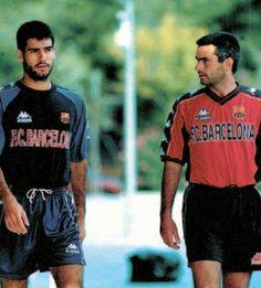 Guardiola & Mourinho Barcelona