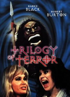 Tonight's Movie Meltdown is a Dan Curtis's Double Feature First up is a Television Movie Anthology written by the great Richard Matheson Trilogy of Terror (1975)    (FULL MOVIE)