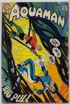 Items similar to Aquaman 51 comic, Deadman, Bronze Age book. 1970 DC Comics, VF+ on Etsy Comics For Sale, Fun Comics, Marvel Comics, Aquaman Comics, Comic Superheroes, Dc Comic Books, Comic Book Artists, Comic Book Covers, Comic Artist