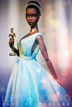 Haus of MFALCAO    ADELE MAKÉDA AS LUPITA NYONG'O ADELE MAKÉDA AS LUPITA NYONG'O - OSCAR SPEECH VERSION Photo & Styling: Marcio Falcão  Retoucher: Marcio Falcão  Prada dress reproduction: Antonio Realli  Model: Adele Makéda - The Muse