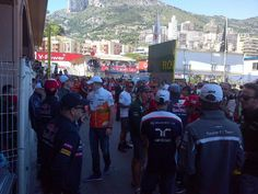 Before drivers' parade - 2013 Monaco GP