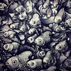 Nanami Cowdroy Creative Illustration, Texture Art, Painting & Drawing, Amazing Art, Fashion Art, Modern Art, Graphic Art, Art Drawings, Artist