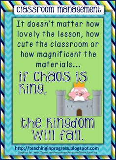 Teaching in Progress:  blog post about classroom management - developing classroom routines and procedures in order to provide for freedom and choice
