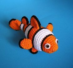 PDF Crochet Pattern CLOWN FISH by bvoe668 on Etsy
