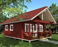 Cabins And Cottages: Cabin Dream Home for cheap, Tiny House, Cabin Kit,. Cabin Kits For Sale, Small Log Cabin Kits, Building A Small Cabin, Cabins For Sale, Cabins And Cottages, Small Cabins, Tiny House Kits, Best Tiny House, Tiny House Cabin