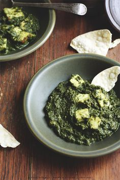 It's green and mushy but this is my ALL TIME favorite Indian food. I would eat this everyday! Easy Palak Paneer - Healthy Spinach Cheese Curry