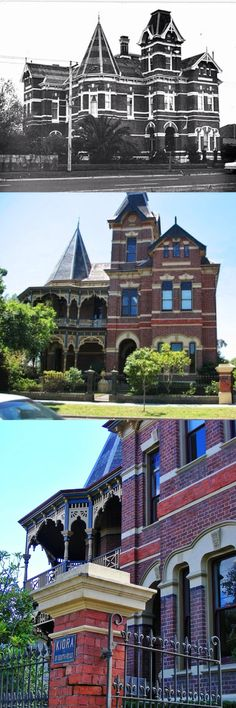 Kiora, Brighton (Melbourne), was built in 1891 at the very end of Melbourne's boom and is an outstanding and intact example of a boom-style mansion. The first owner, and almost certainly the designer, was John Russell Brown, an architect with the Public W