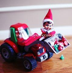 Funny Elf Ideas - Everything Christmas- Elf on the Shelf