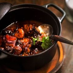 Possupata kasslerista - Kotiliesi.fi - Pork stew