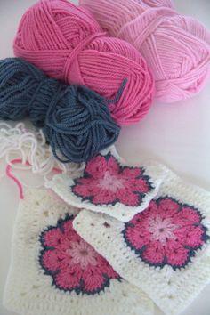 the heartfelt company: Granny square challenge week 5