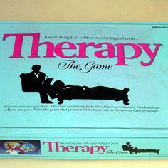 Vintage Board Game Pressman Therapy 1986 on Etsy by EdibleComplex