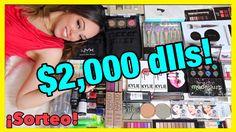 MAS DE $2,000 dlls EN MAQUILLAJE!!!! SUPER MEGA SORTEO INTERNACIONAL!