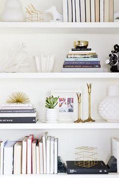 The art of the shelfie...[4 tips] — The Decorista