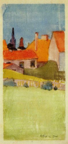 Arthur Wesley Dow, master of composition
