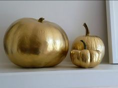 Gold Pumpkins!