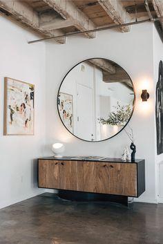 Un loft trendy à Los Angeles - Frenchy Fancy Simple Living Room, Home Living Room, Living Room Decor, Living Spaces, Cozy Living, Coastal Living, Small Living, Country Living, Living Room Trends