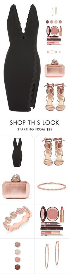 """Sin título #4578"" by mdmsb on Polyvore featuring moda, Rare London, Paul Andrew, Jimmy Choo, Anne Sisteron, Charlotte Tilbury y Terre Mère"