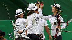 Por equipos, gana Corea del Sur en tiro con arco Río 2016